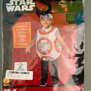 EUC Disney/Star Wars BB-8  Costume sz 4T